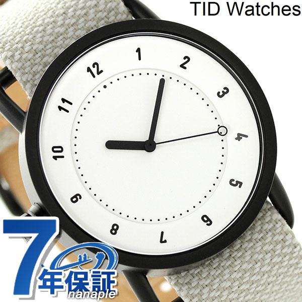 TID watches 時計 No.1 トウェインベルト 40mm TID01-TW WH/SAND ティッド ウォッチズ 腕時計