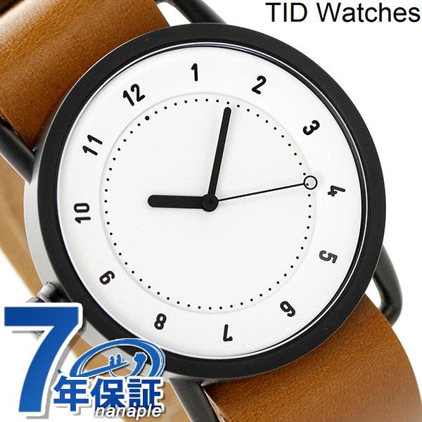 TID Watches 時計 革ベルト ティッドウォッチ No.1 40mm 腕時計