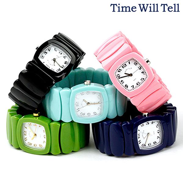 时间威尔三是女子的手表标准彩色TIME WILL TELL能选的型号