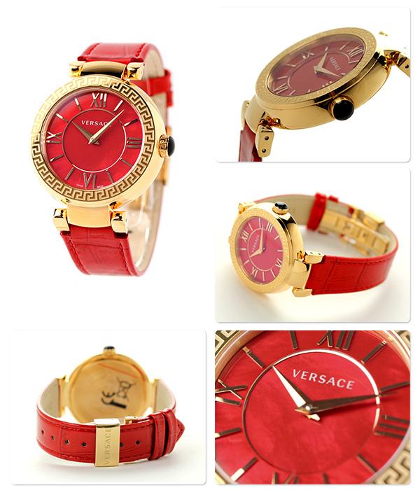 Versace Leda Lady's watch VNC140014 VERSACE red shell
