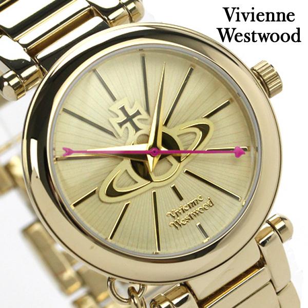 ヴィヴィアン・ウエストウッド 腕時計 レディース 鍵型チャーム ゴールド Vivienne Westwood VV006KGD 時計【あす楽対応】