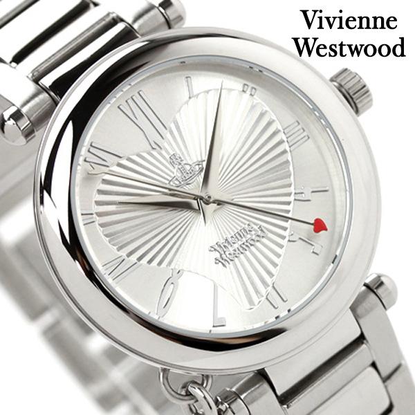 店内ポイント最大43倍!16日1時59分まで! ヴィヴィアン・ウエストウッド 腕時計 レディース オーブ シルバー Vivienne Westwood VV006SL 時計【あす楽対応】