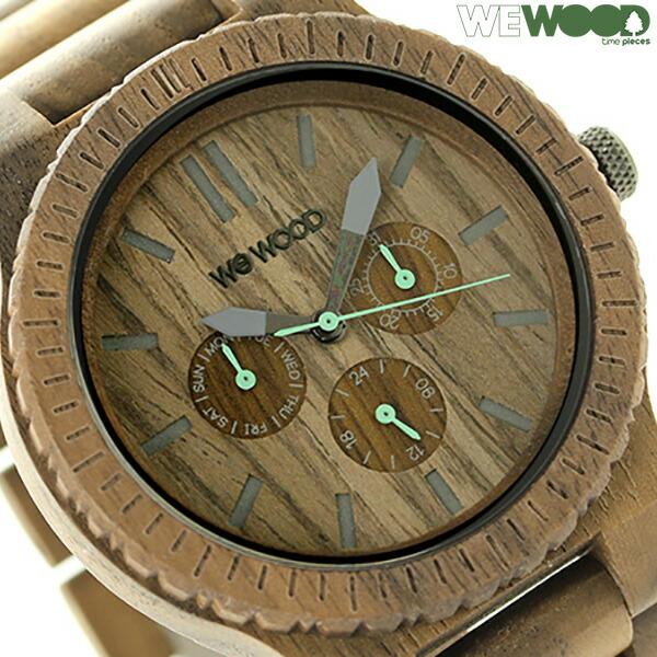 ウィーウッド カッパ マルチファンクション 木製 腕時計 9818030 WEWOOD ナット 時計