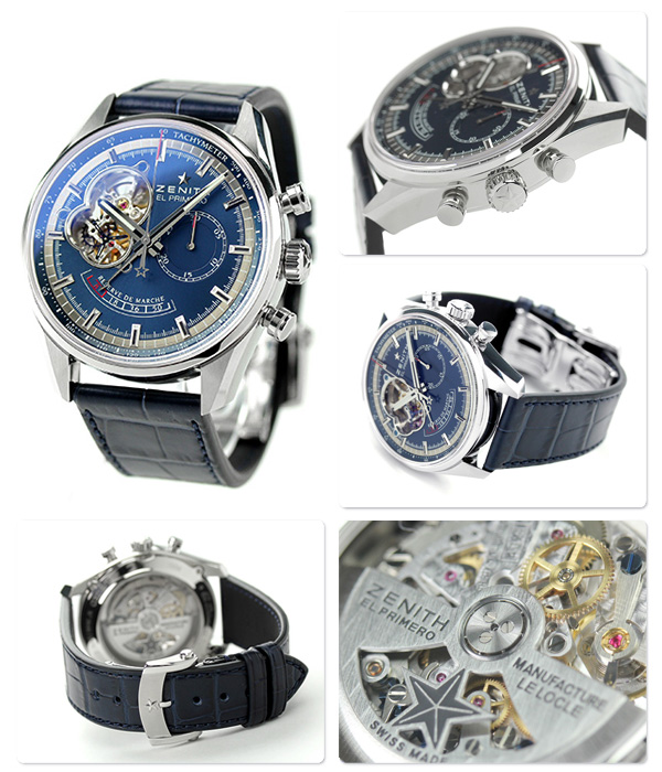 Zenith L primero Kurono master power reservation 03.2085.4021/51.C700 ZENITH self-winding watch watch chronograph is new