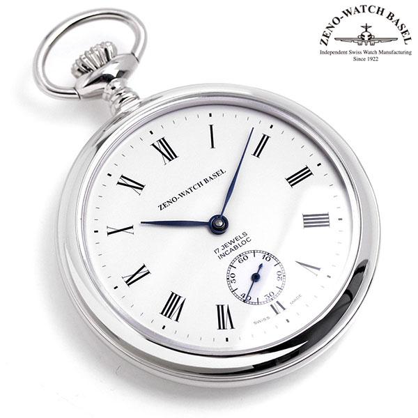 ZENO WATCH ゼノウォッチ 懐中時計 手巻き ZT-100-i2-rom アイボリー 時計