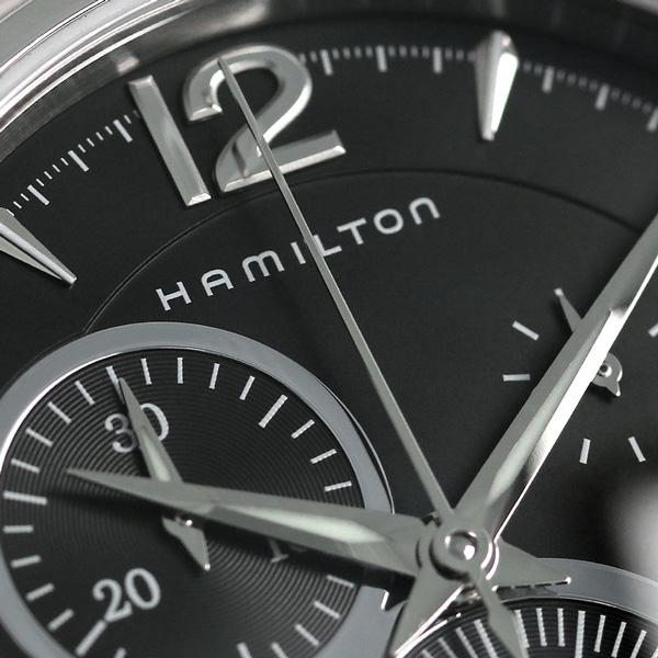 HAMILTON Hamilton Jazzmaster jazzmaster chronograph mens watch black H32612135