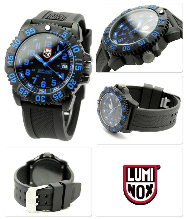 3050 Lumi Knox LUMINOX navy Shields color mark series series blue 3053