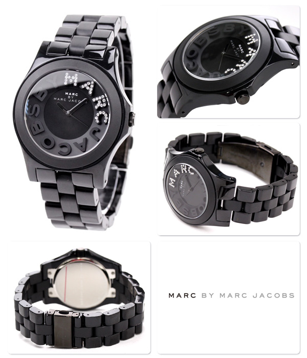 MARC BY MARC JACOBS mark by mark Jacobs Lady's clock RIVERA black MBM4527