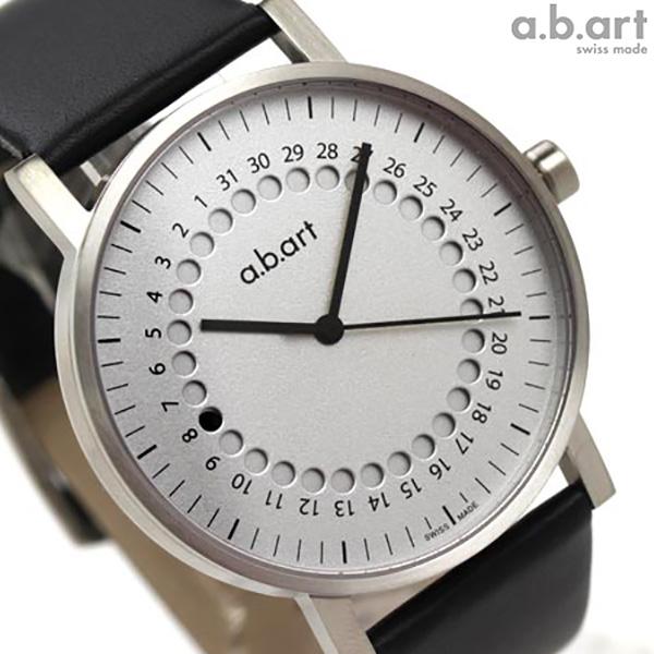 a.b.art エービーアート 腕時計 レッドドット賞受賞モデル O 101 シルバー 時計