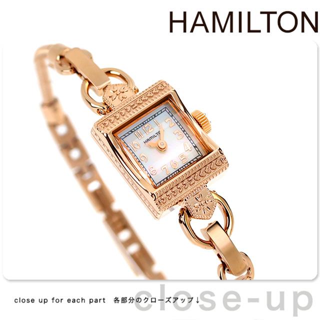 店内ポイント最大43倍!16日1時59分まで! ハミルトン 腕時計 HAMILTON H31241113 レディ ハミルトン ヴィンテージ 時計【あす楽対応】