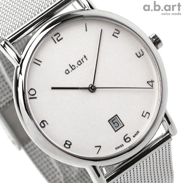 エービーアート 腕時計 KLD シリーズ デイト シルバー a.b.art KLD107 時計