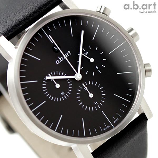 a.b.art エービーアート 腕時計 クロノグラフ OC Series OC103 ブラック 時計
