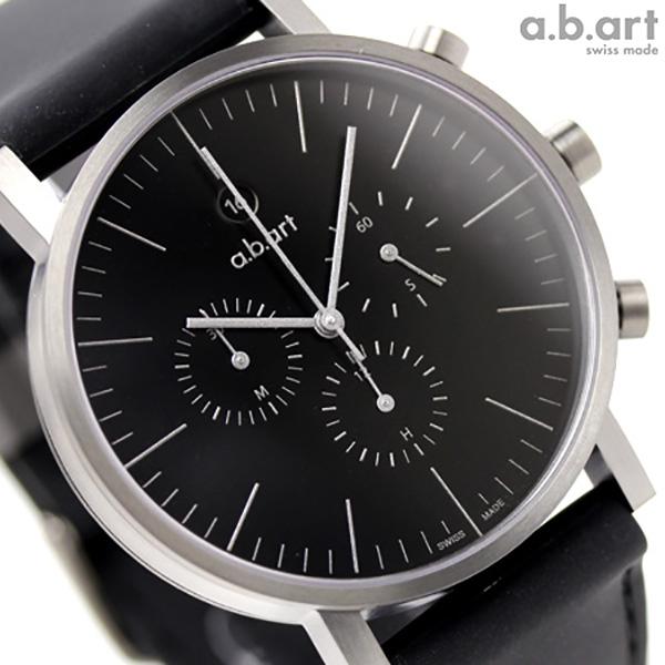 a.b.art エービーアート 腕時計 クロノグラフ OC202R グレー 時計