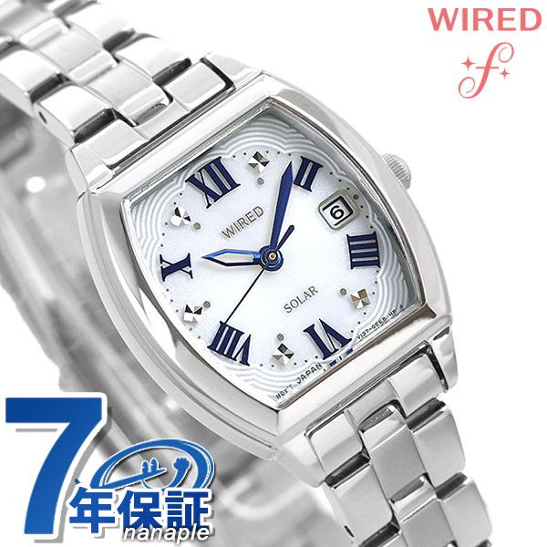 セイコー ワイアード エフ SEIKO WIRED f ソーラー レディース 腕時計 AGED075 シルバー 時計