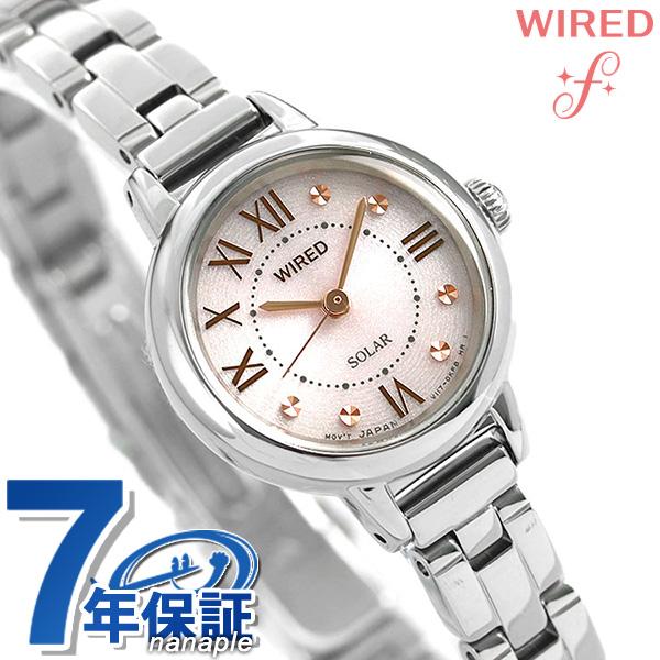 セイコー ワイアード エフ SEIKO WIRED f ソーラー レディース 腕時計 AGED094 ピンク 時計【あす楽対応】