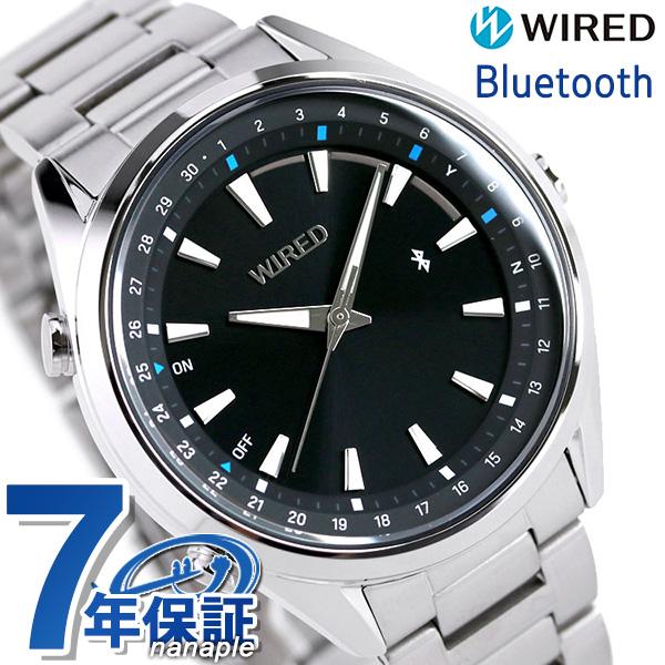 セイコー ワイアード トウキョウソラ Bluetooth メンズ 腕時計 AGAB411 SEIKO WIRED ブラック【あす楽対応】