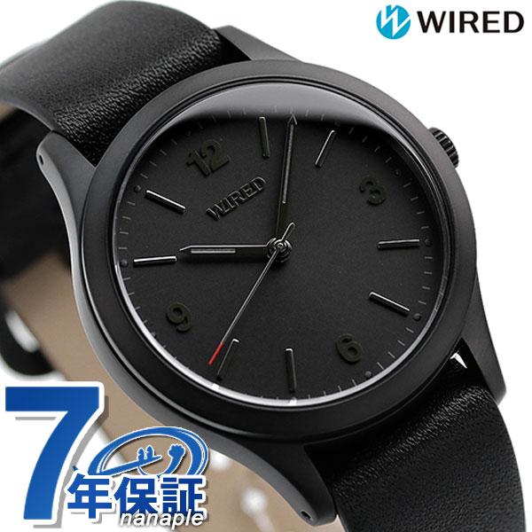 セイコー ワイアード 日本製 限定モデル buddy バディ メンズ レディース 腕時計 AGAK704 オールブラック【あす楽対応】