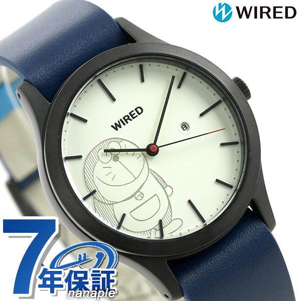 セイコー ワイアード ドラえもん 限定モデル AGAK710 SEIKO WIRED メンズ レディース 腕時計 ホワイト×ブルー 時計【あす楽対応】