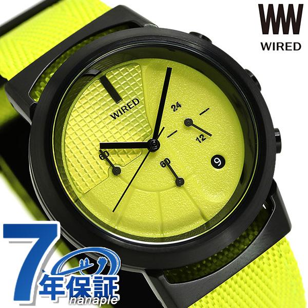 セイコー ワイアード WW ツーダブ Bluetooth メンズ レディース 腕時計 AGAT436 SEIKO WIRED TYPE 03 イエロー 時計【あす楽対応】