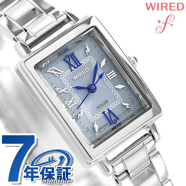 店内ポイント最大43倍!16日1時59分まで! 【4月下旬入荷予定 予約受付中♪】セイコー ワイアード エフ SEIKO WIRED f ソーラー レディース 腕時計 AGED101 ピンク 時計