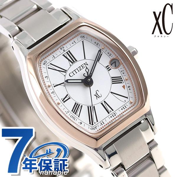 シチズン クロスシー サクラピンク(R) 電波ソーラー ES9355-58A CITIZEN xC 腕時計 チタン 時計【あす楽対応】