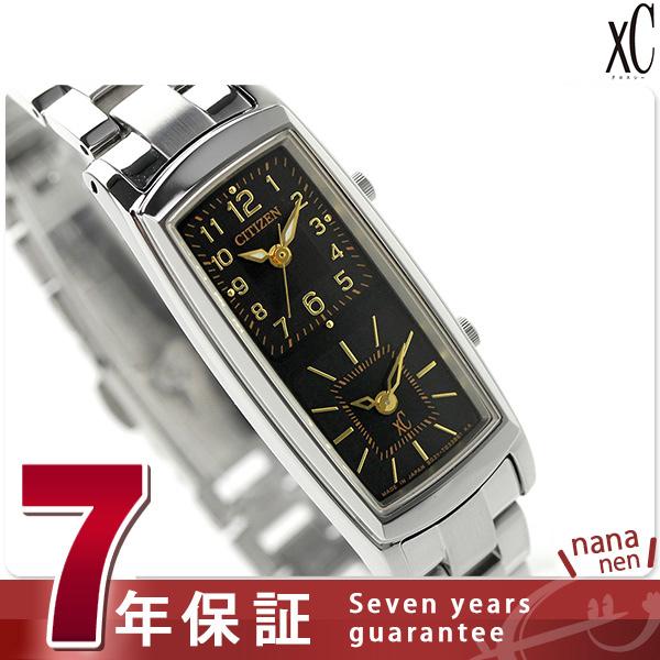 シチズン クロスシー ソーラー エコダブルフェイス EW4000-55E CITIZEN xC 腕時計 ブラック 時計【あす楽対応】