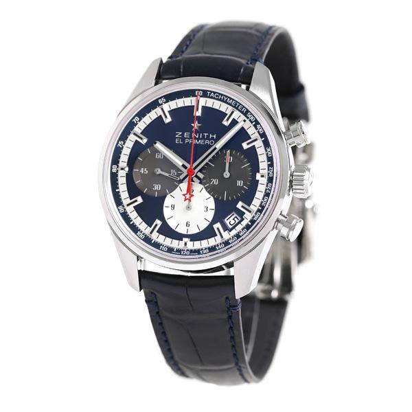 low priced 86dc3 1bb93 Zenith ZENITH Kurono master L primero 36000VPH 38mm 03.2150.400/53.C700 men  watch clock