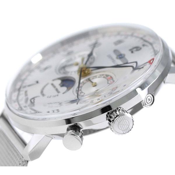 Zeppelin LZ129 ヒンデンブルグムーンフェイズメンズ 7036-M1 Zeppelin watch silver