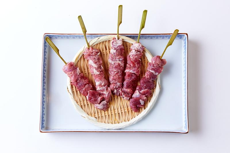 焼き鳥 串焼き 海鮮丼 スイーツ 美味しいものや 七つ壺 焼き豚 生豚肉豚ハラミ45g 10本 5本入り×2パック 国産 送料無料 休み