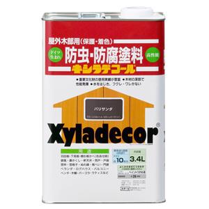 【カンペハピオ】木材保護塗料 キシラデコール【3.4L パリサンダ】