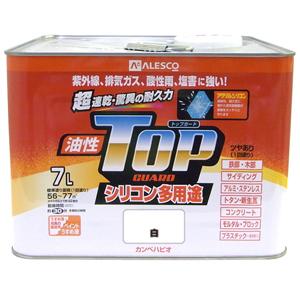 【カンペハピオ】油性塗料 油性トップガード【7L 白】