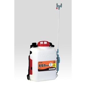 【工進】背負乾電池式噴霧器 消毒・除草名人【DK-7D 7L】