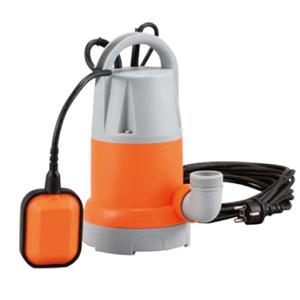 【工進】水中ポンプ 簡易汚物用水中ポンプ【YK-632A オレンジ】
