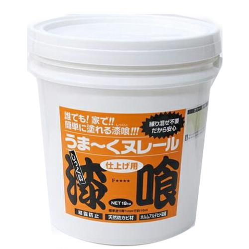 【日本プラスター】漆喰 うま~くヌレール【12UN24 18kg 黄土】