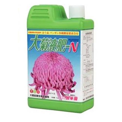 生育初期に使う液肥 国華園 高い素材 液肥 N ついに入荷 大菊液肥 1kg