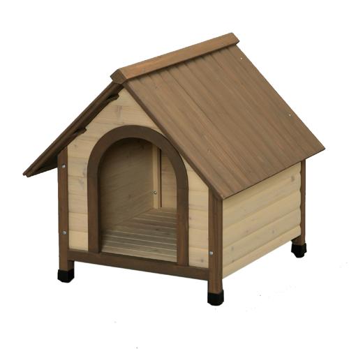 【大型送料適用商品】【アイリスオーヤマ】犬舎 ウッディ犬舎【WDK-750 ブラウン】