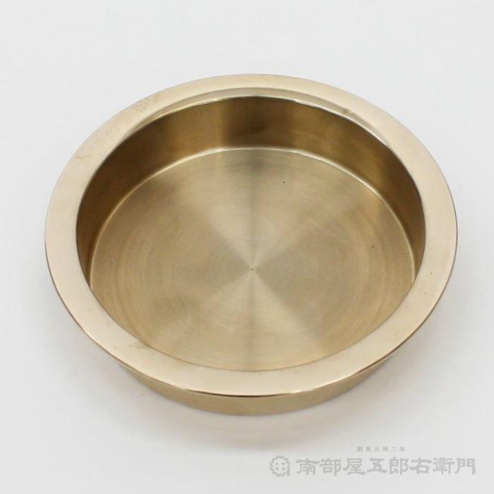 スリ鉦(当り鉦) 6号(6寸) 天場(鏡)寸法14,1cm