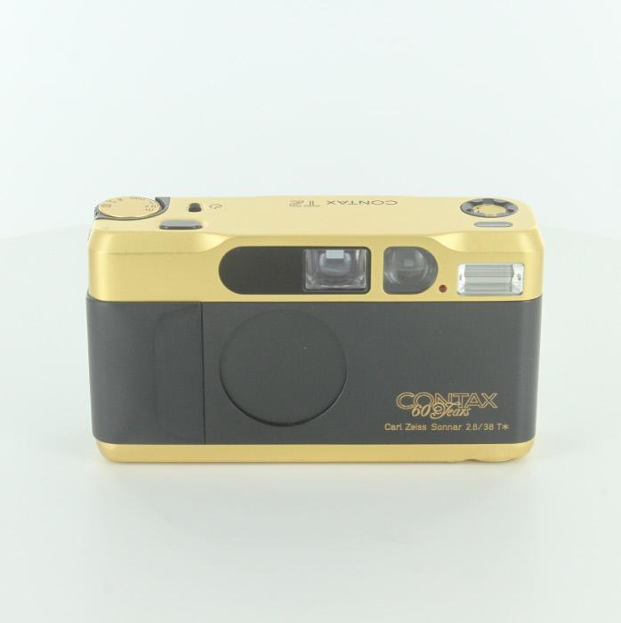 【中古】【B】 (コンタックス) CONTAX T2 60周年 ゴールド【中古カメラ フィルムカメラ】 ランク:B