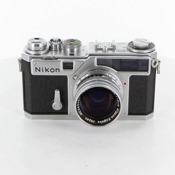 【中古】 (ニコン) Nikon SP(布幕シャッター)+5cm/1.4【中古カメラ レンジファインダー】 ランク:C