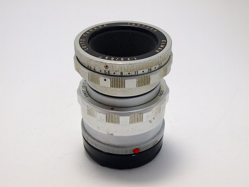 【中古】【C】 (ライカ) Leica エルマー M 65/3.5 ビゾフレックス用【中古レンズ レンジファインダー用レンズ】 ランク:C