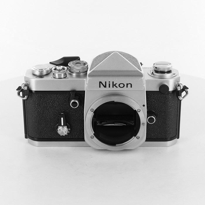 【中古】【B】 (ニコン) Nikon F2アイレベル シルバー【中古カメラ フィルム一眼】 ランク:B