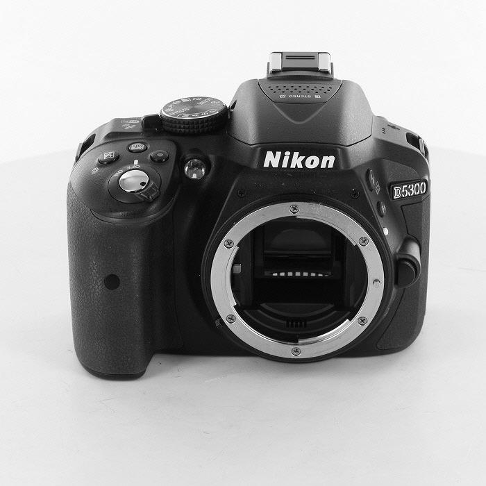 【中古】 (ニコン) Nikon D5300 ボデイ ブラツク【中古カメラ デジタル一眼】 ランク:B
