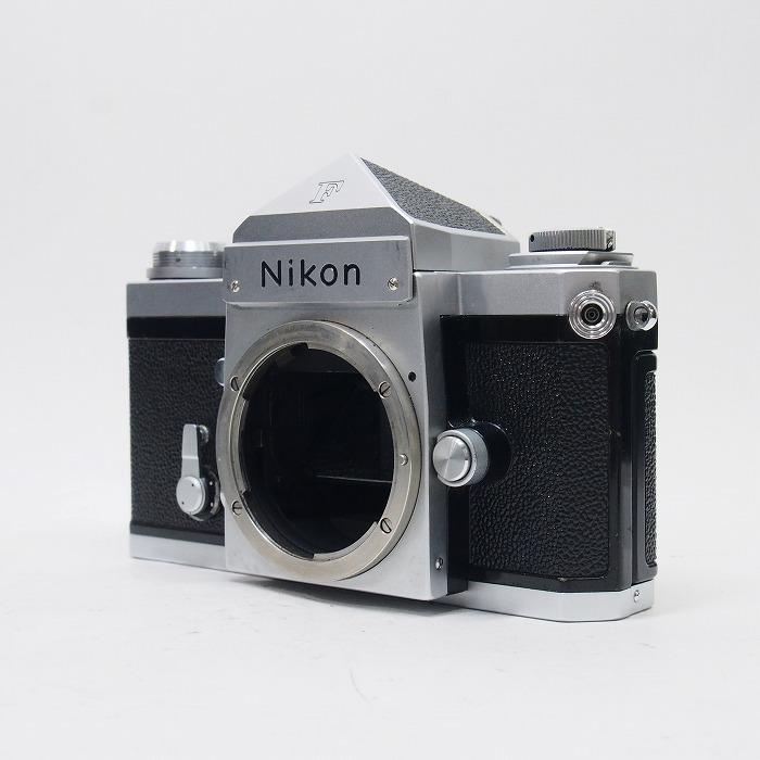 年中無休 中古 ニコン Nikon F アイレベル 中古カメラ ランク:C 信憑 フィルム一眼 ボディ シルバー