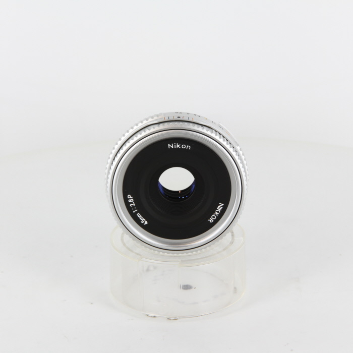 【中古】 (ニコン) Nikon Ai 45/2.8 P シルバー【中古レンズ MFレンズ】 ランク:B