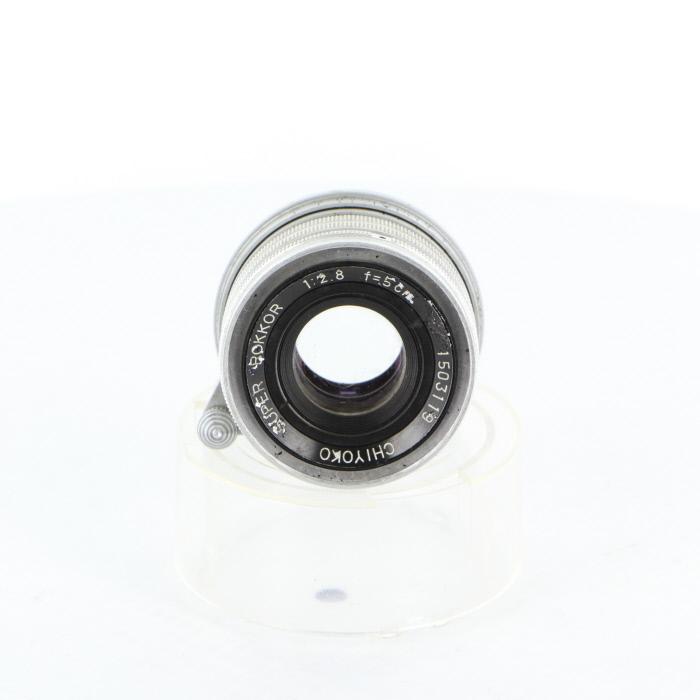 【中古】 (ミノルタ) MINOLTA SUPER ROKKOR (L) 50/2.8【中古レンズ レンジファインダー用レンズ】 ランク:C