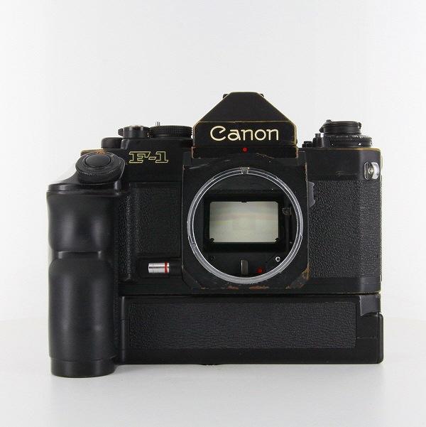 【中古】【B】 (キヤノン) Canon NewF-1 アイレベル+AEパワーワインダーFN【中古カメラ フィルム一眼】 ランク:B