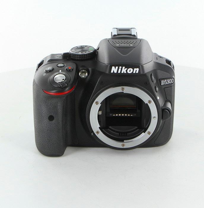 【中古】 (ニコン) Nikon D5300 ブラック【中古カメラ デジタル一眼】 ランク:B