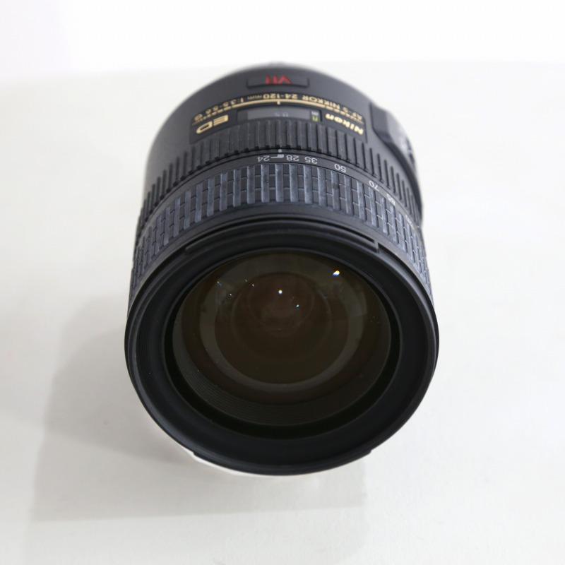 中古 ニコン Nikon AF-S VR 期間限定今なら送料無料 正規激安 24-120 中古レンズ F3.5-5.6G AFレンズ ランク:B IF-ED