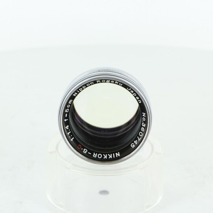 【中古】【B】 (ニコン) Nikon NIKKOR-S.C (S) 5cm/1.4【中古レンズ レンジファインダー用レンズ】 ランク:B