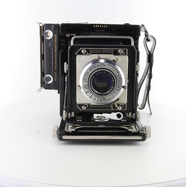 【中古】【B】 (グラフレックス) Graflex センチュリーグラフィック 6x9+エクター101/4.5【中古カメラ 中判カメラ】 ランク:B